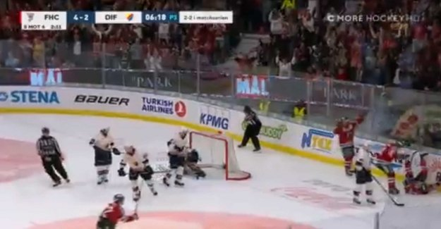 Frölunda crushed the island of Djurgården in game five