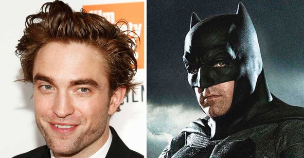 From vampire to Batman now takes Pattinson on the mantle