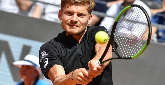 Goffin punch by in Rome after a win against Wawrinka - Serena Williams injured
