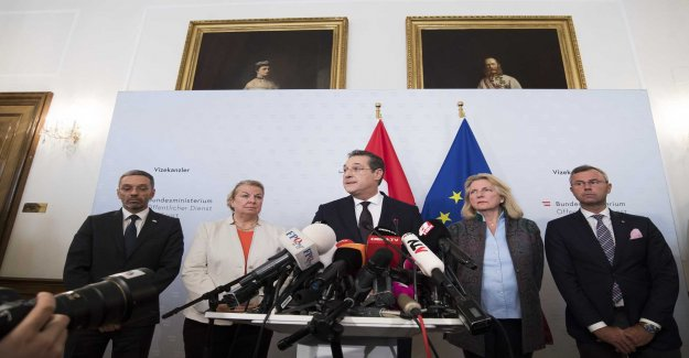 Governmental crisis in Austria – vice-chancellor resigns