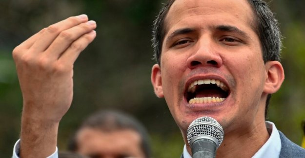 Guaidó want to have the help of the U.S. military in Venezuelakrisen
