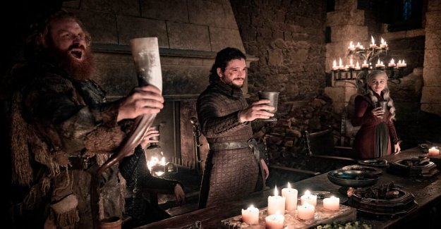HBO recognizes kaffemiss in the Game of thrones