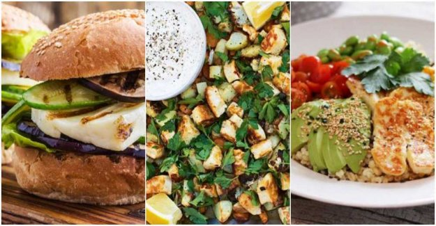 Halloumi – this is our six delicious recipes