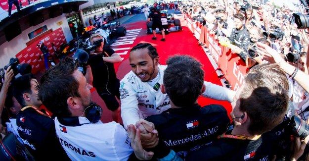 Hamilton won the Spanish Grand Prix