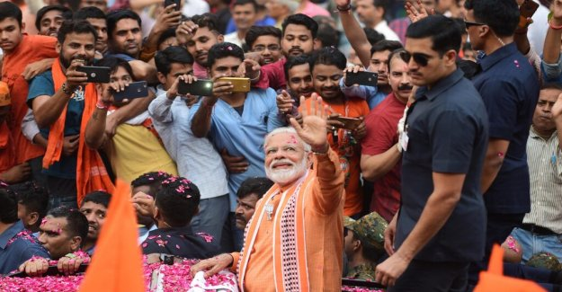He is followed by 46 million on Twitter – but hot and false rumors characterizes the indian elections