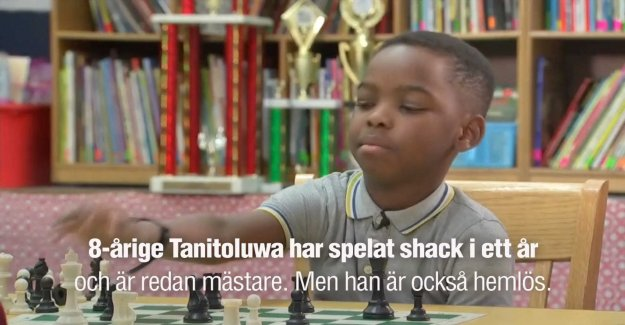 Homeless 8-year-old becomes the chess master: So happy