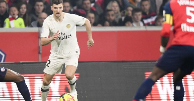 How Meunier of fixed basisklant now on the way to the exit at PSG