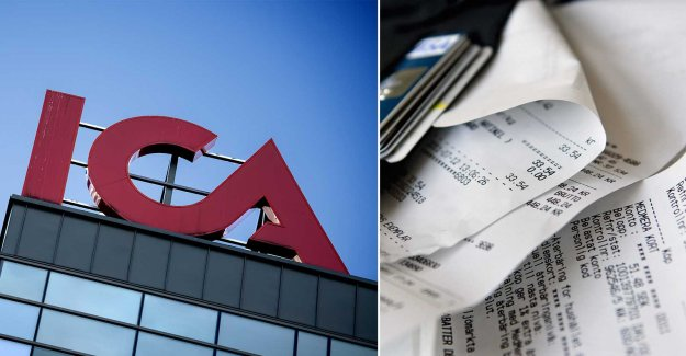 Ica starts with digital receipts – for the environment
