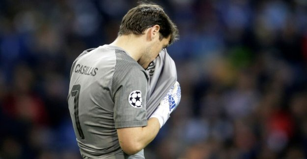Iker Casillas brought an emergency to the hospital