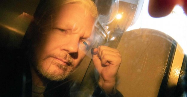 Imprisonment of Assange for violating bail