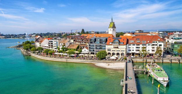 In Friedrichshafen, only ferries is not to create
