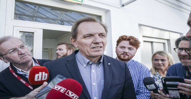 In short: the SAS group holds press conference about strike