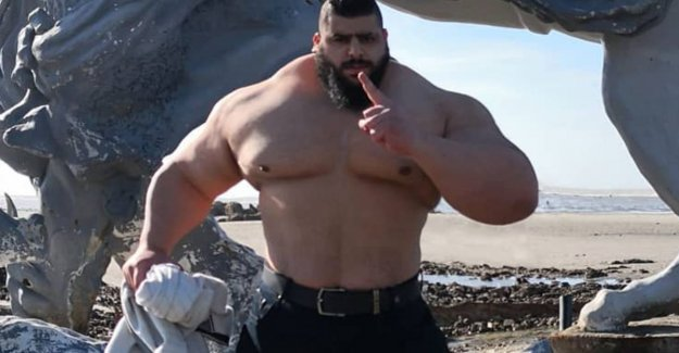 Iranian-Hulk' in 2016 IS to ruin wanted to focus on, get soon in MMA-cage: Ready for the challenge.