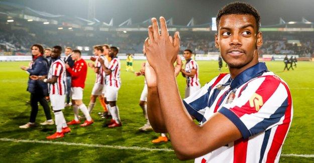 Isaac scorer when Willem II lost