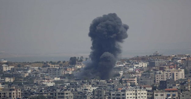 Israel bombed targets in Gaza after cyber attack