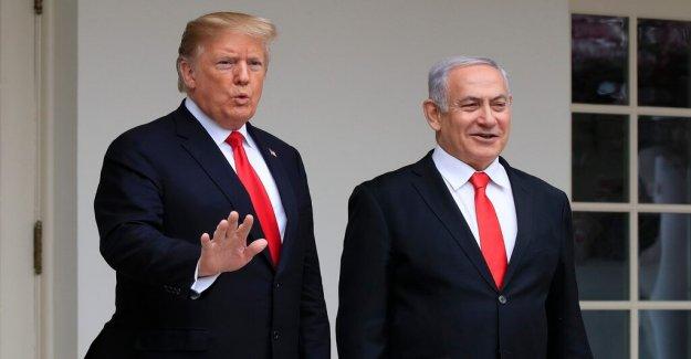 Israel uppkallar residence after Trump