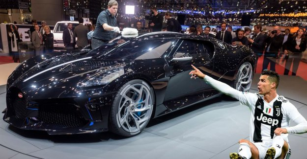 It would be for 11 million euro? Cristiano Ronaldo is named as the new owner of most expensive sports car ever