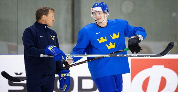 Johan Garpenlöv: I would expect the gas in the bottom from the start