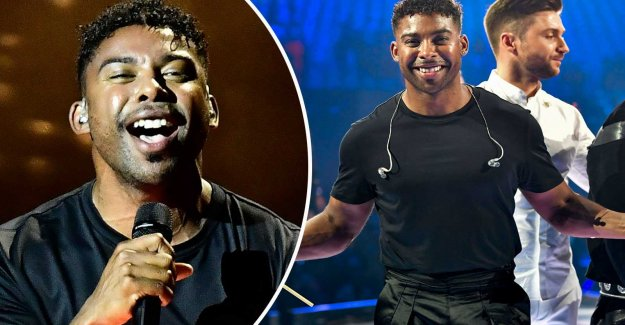John Lundvik came in sixth in the Eurovision song contest