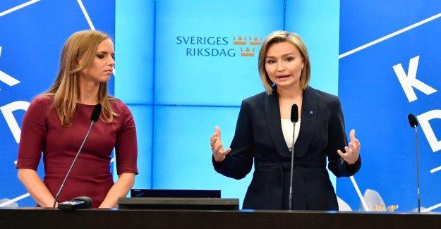 KD wants to stop the EU's medlemsförhandlingar with Turkey