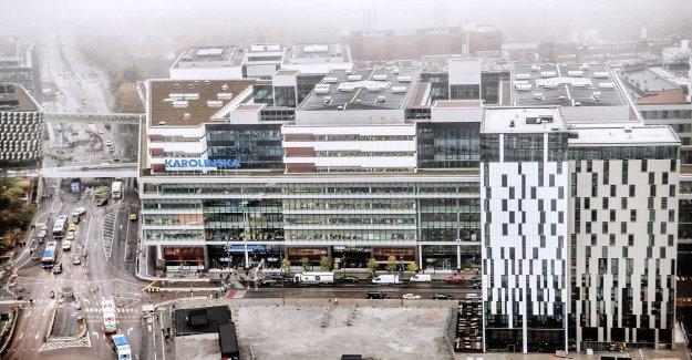 Karolinska hospital bleed: 550 alerts