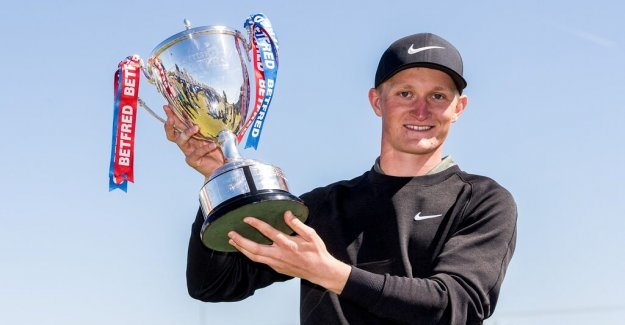 Kinhults victory came in the right moment for american golf