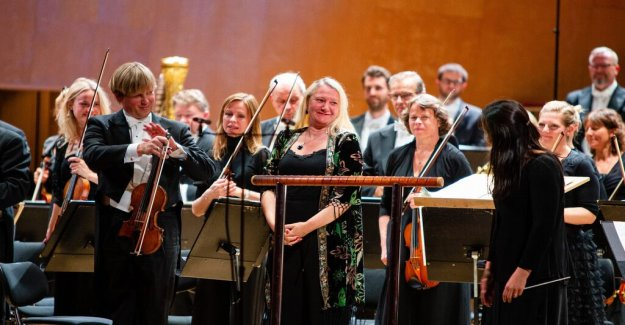 Konsertrecension: Anna-Lena Laurin new work is music as it really storms on