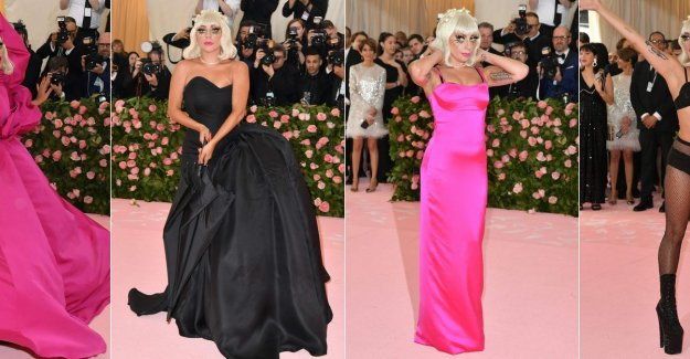 Lady Gaga wore 4 (!) outfits and Katy Perry was a chandelier: this was the Gala