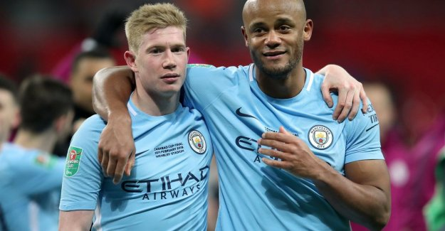 Leave with a FA Cup? De Bruyne: Kompany is irreplaceable