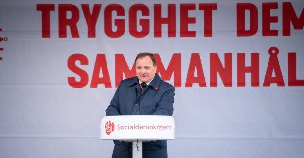 Löfven wants to ban nazi organisations