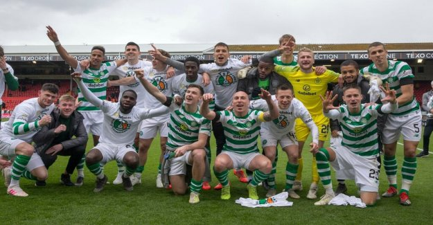 Lustig unheard of when Celtic took eighth straight title