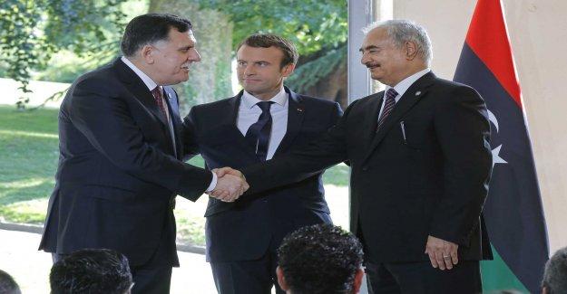Macron wants to meet libyan warlord