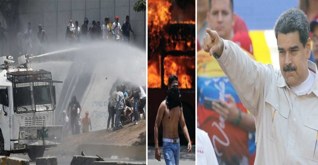 Maduro calls the coup attempt failed