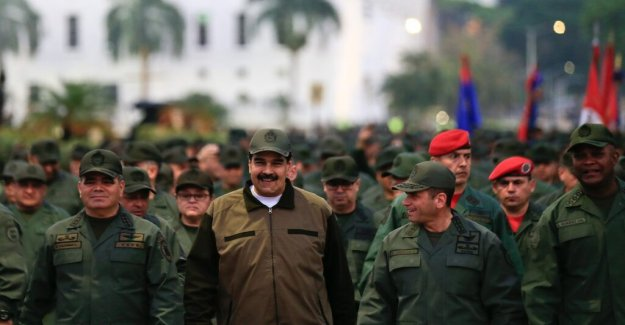 Maduro to the military: to Disarm the traitors