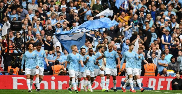 Manchester City took home the historic triple