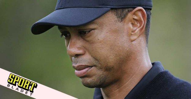 Mardrömsmajor for Tiger Woods - missed kvalgränsen
