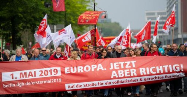 May day rallies: words of Warning for labor day