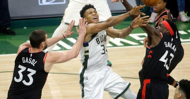 Milwaukee is once again too strong for Toronto in the second finaleduel Eastern Conference
