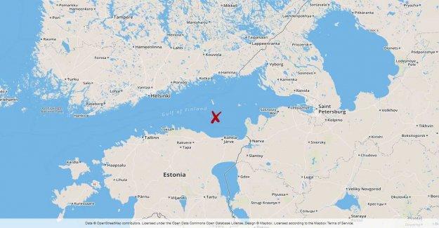 Minsprängd Sovjetubåt found in the gulf of finland