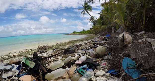 More pieces of plastic in the oceans than stars in the Milky way