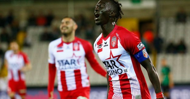 Mouscron slide to last place by going to the Club after a clear victory