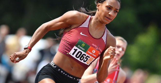 Nafi Thiam breaks immediately personal record 200m at competitierentree