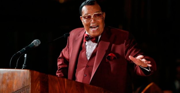 Nation of Islam leader denies allegations of anti-semitism, a minute later, about satanic Jews