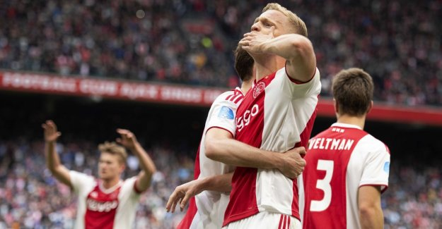 National championship can win at Ajax no longer escape after the misstep of PSV in Alkmaar