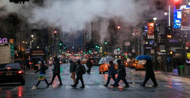 New York may ban to look at the phone and walk across the street