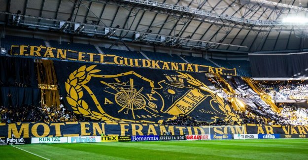New flaggförbud before the AIK–AFC – strong reactions