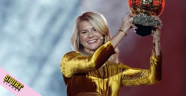 No Hegerberg of Norway's world CUP squad