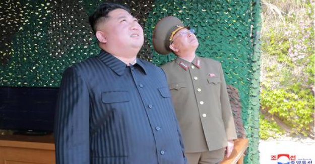 North Korea has tested supposedly only short-range weapons