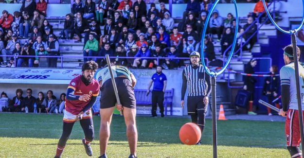 Not the Belgians, or the French win european CHAMPIONSHIP quidditch: We are not fans of Harry Potter