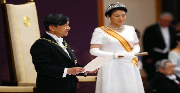 Now Japan's new emperor has been crowned